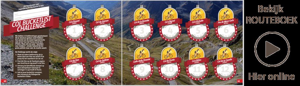 Download Bucketlist Challenge Routeboek