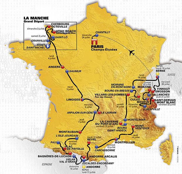 Tour de France & Giro d'Italia
